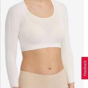 Spanx Arm Tights, Cream Cable 20157R